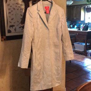Oscar De La Renta Long Jacket
